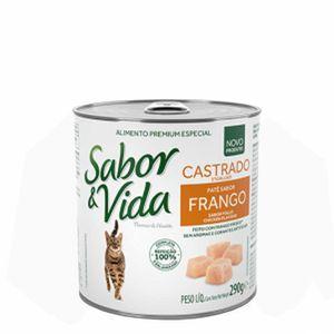Alimento-Umido-Sabor-e-Vida-Gato-Frango-290g
