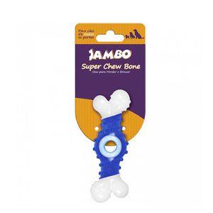 Brinquedo-Super-Osso-Chew-Azul-Jambo