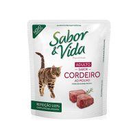 Alimento-Umido-Sabor-e-Vida-Gato-Adulto-Cordeiro-ao-Molho