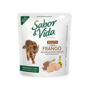 Alimento-Umido-Sabor-e-Vida-Gato-Adulto-Frango-ao-Molho