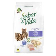 Racao-Sabor-e-Vida-Gato-Filhote-Peru-e-Aveia