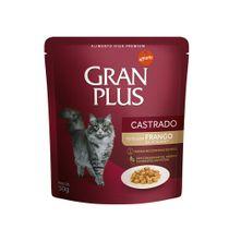 Alimento-Umido-Gran-Plus-Gato-Castrado-Frango-50g