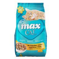 Racao-Max-Cat-Mix-Selection-Adultos-Peixe-Frango-e-Figado