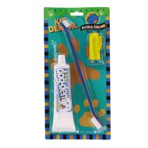 Kit-Escova-Dedeira-e-Creme-Dental-Azul-Amarelo-Santoro