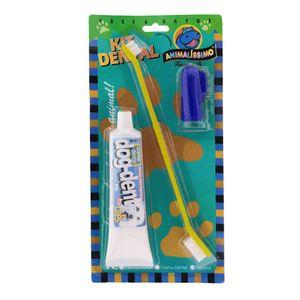 Kit-Escova-Dedeira-e-Creme-Dental-Amarelo-Azul-Amarelo-Santoro