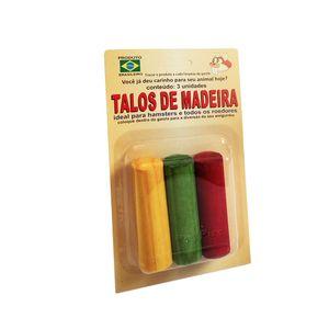 Brinquedo-para-Roedores-Talos-de-Madeira-PetPira-3-unidades
