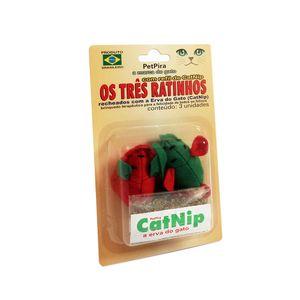 Brinquedo-Tres-Ratinhos-com-CatNip-PetPira