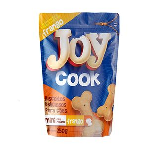 Petisco Biscoito Joy Cook Mini Frango - 250g