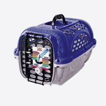 Caixa-de-Transporte-Panther-Azul-Plast-Pet-1