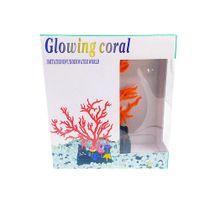 Enfeite-para-Aquario-Coral-Maxxi-Laranja