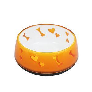 Comedouro para Cachorro Amor Amarelo AFP - 900ml