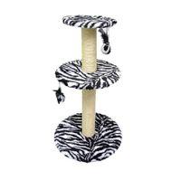 Arranhador-Redondo-G-com-3-Plataformas-Zebra