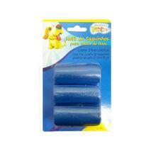 Refil-Saquinhos-Higienicos-Azul-Western-Pet