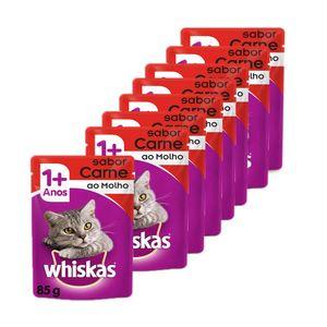 Kit-Sache-Whiskas-Carne-ao-Molho-8-unidades