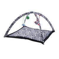 Tenda-com-Brinquedos-para-Gato-Chalesco-Zebra