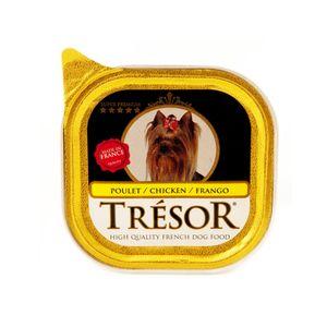 Alimento-Umido-Tresor-Caes-Frango-100g