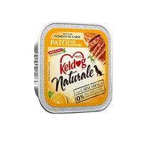 Alimento-Umido-Keldog-Naturale-Caes-Pato-com-Laranja-100g