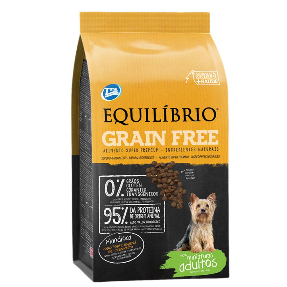 Resultado de imagem para Equilíbrio Adulto Miniatura Grain Free