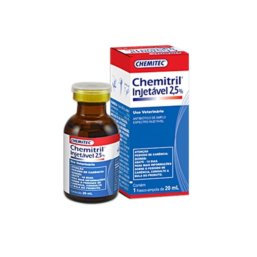 Antibiotico-Chemitril-Injetavel-25--Chemitec-20ml 198eaab19f8ea
