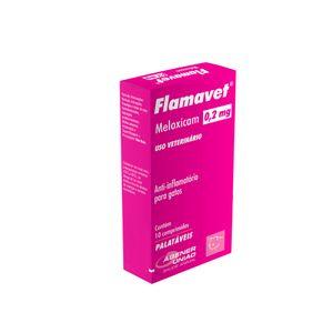 Anti-inflamatório Flamavet Gatos Agener 0,2mg