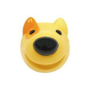 Bola-Vinil-Bull-Terrier-Amarela-iPet