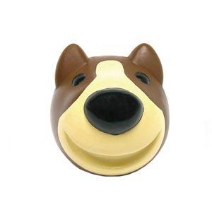 Bola-Vinil-Bull-Terrier-Marrom-iPet