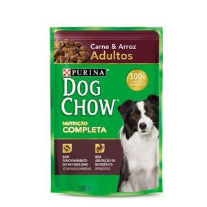 Alimento-Umido-Dog-Chow-Adultos-Carne-e-Arroz-100g