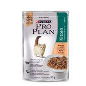 Alimento-Umido-Pro-Plan-Kitten-Frango-ao-Molho---85g
