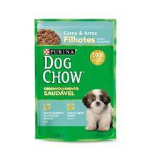 Alimento-Umido-Dog-Chow-Filhote-Racas-Pequenas-Carne-e-Arroz