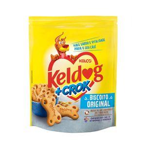 Biscoito Keldog + Crock Original Kelco