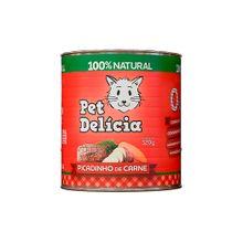 Alimento-Umido-Gatos-Pet-Delicia-Picadinho-de-Carne-320g