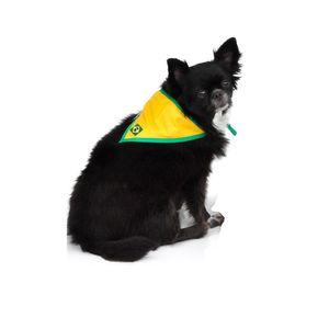 Bandana-Brasil-Amarelo-Bichinho-Chic