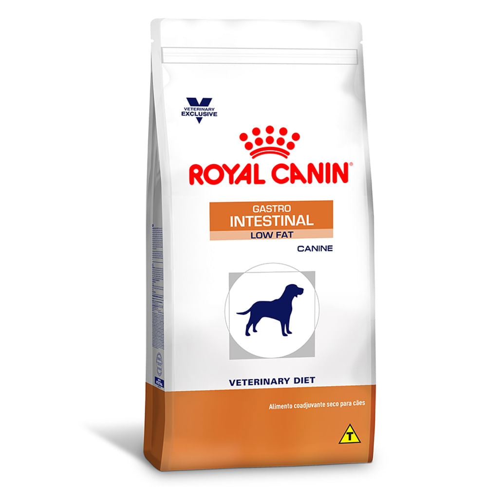 Royal Canin Gastro >> Ração Royal Canin Gastro Intestinal Low Fat Canine - Cobasi