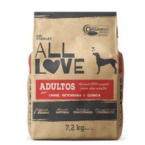 Racao-All-Love-Caes-Adultos-Carne-Beterraba-e-Quinoa-72kg