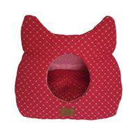 Toca-para-Gatos-Vermelha-Fabrica-Pet