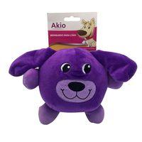 Brinquedo-Pelucia-Cachorro-Roxo-Akio