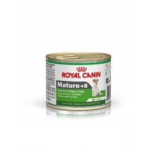 Alimento-Umido-Royal-Canin-Caes-Mature-8--Racas-Pequenas-195g