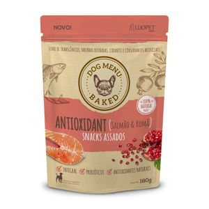 Petisco-Dog-Menu-Antioxidante-Luopet-180g