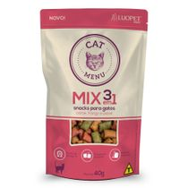 Petisco-Cat-Menu-Mix-Luopet-40g