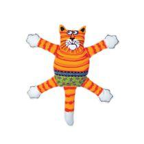 Brinquedo-Pelucia-Gato-Laranja-Petmate-Pequeno