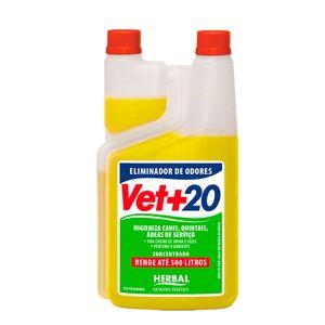 Eliminador de Odores Vet+20 Herbal 1L