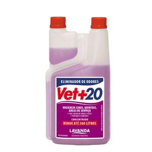 Eliminador de Odores Vet+20 Lavanda 1L