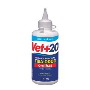Loção Limpa Orelhas Vet+20 120ml