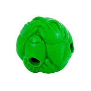 Bolinha Recheável Macaquinho Verde Pet Games