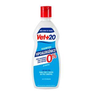 Shampoo Hipoalergênico Vet+20 - 500ml