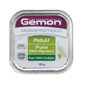 Alimento-Umido-Gemon-Pate-Caes-Monoproteico-Cordeiro-150g