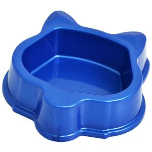 Comedouro-Plastico-Gatos-Azul-Triton-Dog