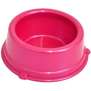 Comedouro-Plastico-Caes-Rosa-Triton-Dog