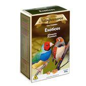 Ração para Pássaros Exóticos Nutripássaros Premium 325g