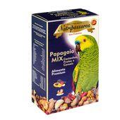 Ração Mix para Papagaio Nutripássaros Castanhas Frutas e Cereais Premium 500g